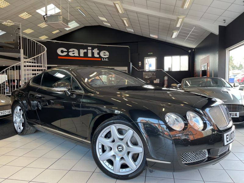 Used BENTLEY CONTINENTAL in Swindon for sale